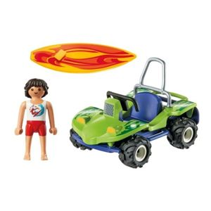 Playmobil Family Fun Surfer z Buggy