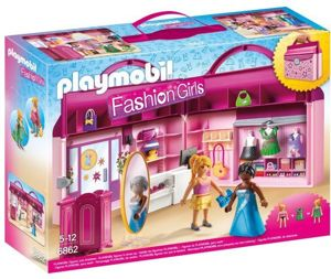 Playmobil Fashion Girls Przenośny Butik