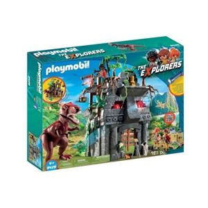 Playmobil The Explorers Obozowisko T-Rexa
