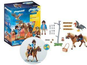 Playmobil The Movie Zestaw Marla z Koniem