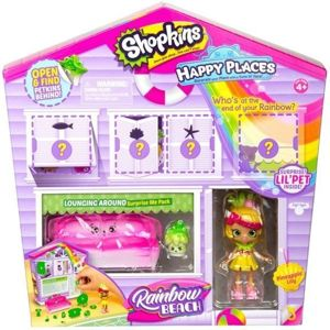 Shopkins Zestaw Happy Places Mebelki i Lalka Pineapple Lily - Salon