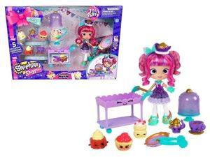Shopkins Zestaw Join The Party Herbatka z Lalką Tippy