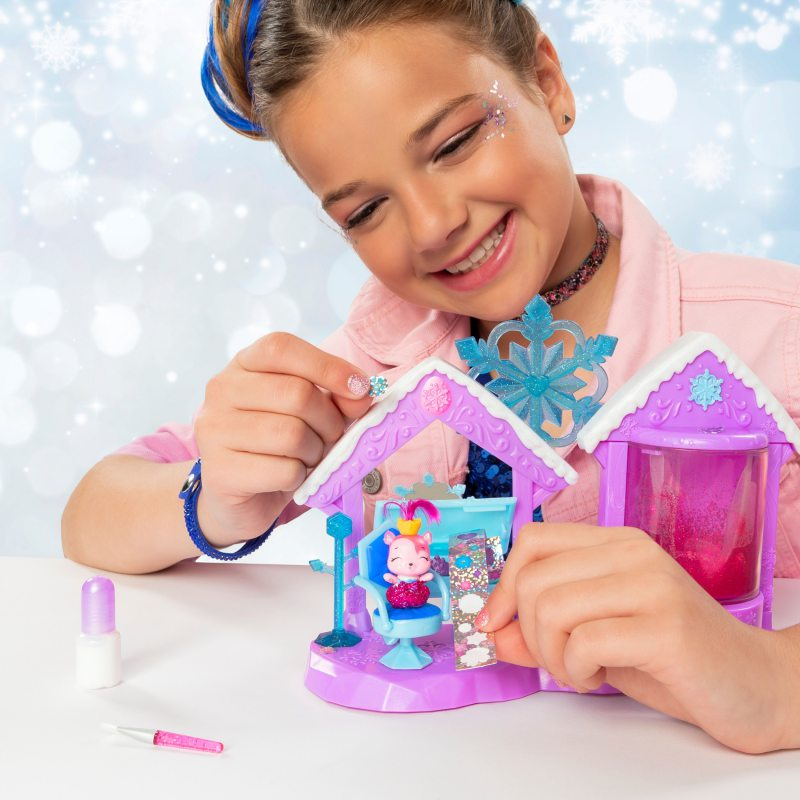 Spin Master Hatchimals Zestaw Brokatowy Salon i 2 Figurki