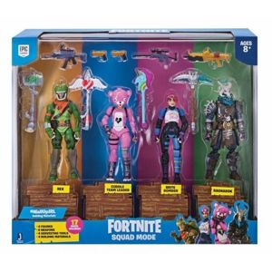 Tm Toys Fortnite Zestaw Figurek 4pak - Rex, Cuddle Team Leader, Brite Bomber, Ragnarok