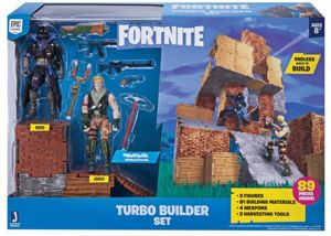 Tm Toys Fortnite Zestaw Turbo Builder - Figurki Raven i Jonesy