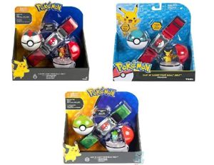 Tomy Zestaw Pokemon Pas z Pokemonem  Kulami Pokeball