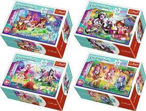 Trefl Puzzle Mini Enchantimals Wesoły Dzień Enchantimals 54el