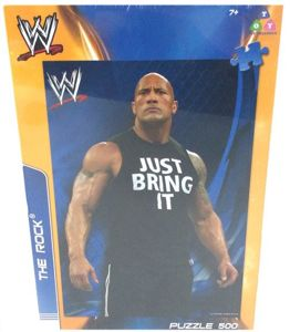 WWE The Rock Puzzle 500