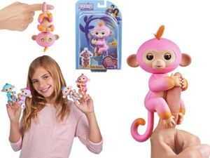 WowWee Fingerlings Interaktywna Małpka Summer