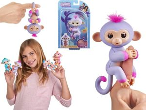 WowWee Fingerlings Interaktywna Małpka Sydney