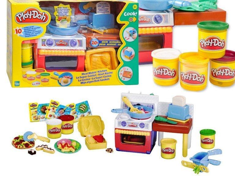 Hasbro Play Doh Ciastolina Zestaw Kuchnia Z Akcesoriami 320g 22465