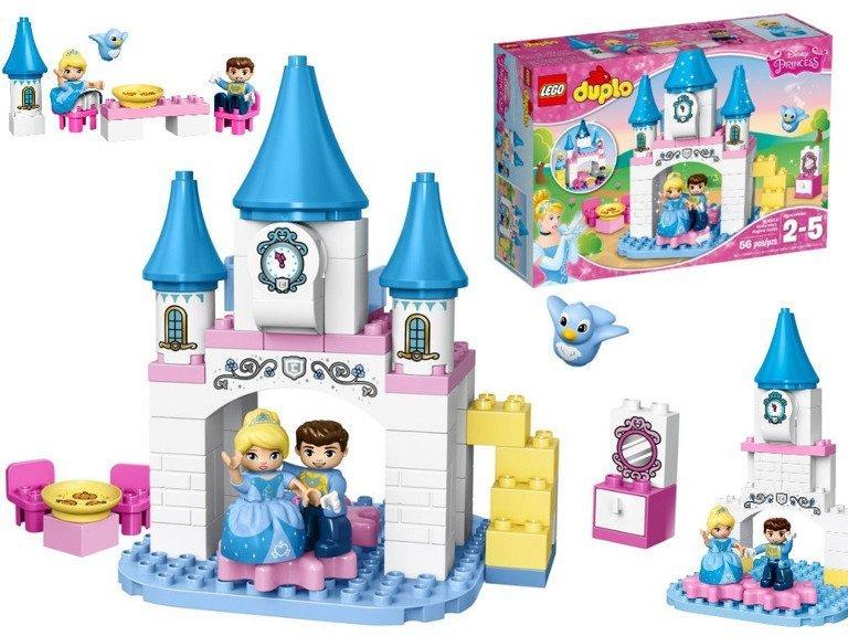 Lego Duplo Klocki Disney Księżniczki Magiczny Zamek Kopciuszka 56el