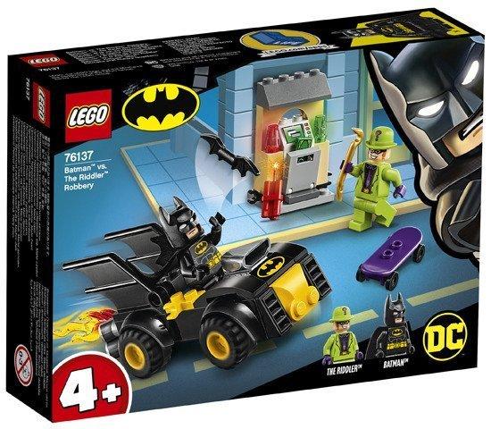 Lego Dc Super Heroes Batman I Rabunek Człowieka Zagadki