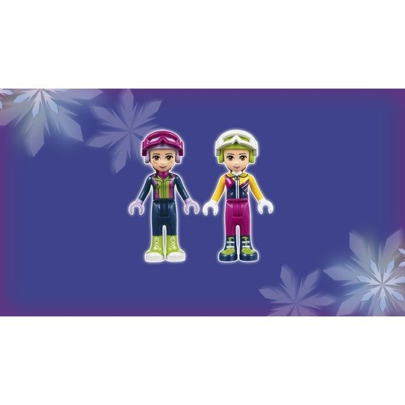 Lego Friends Klocki Wyciąg Narciarski W Zimowym Kurorcie 585 El