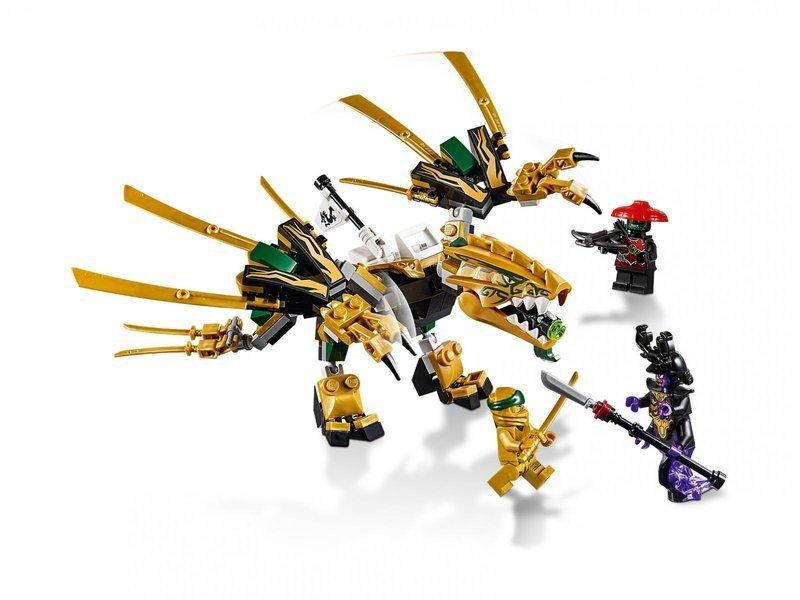 Lego Ninjago Klocki Złoty Smok Sklep Damizabawkipl