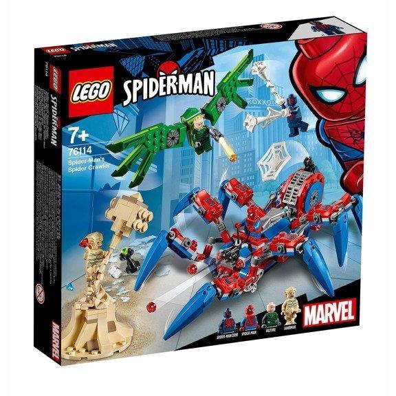 Lego Super Heroes Klocki Mechaniczny Pająk Spider Mana