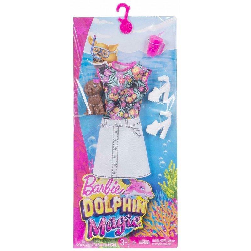 Mattel Barbie Delfiny Z Magicznej Wyspy Ubranko Dla Lalki Z