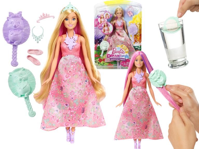 Mattel Barbie Dreamtopia Lalka Księżniczka Kolorowe Fryzury
