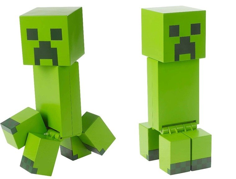 Minecraft Duża Kolekcjonerska Figurka 21cm Creeper