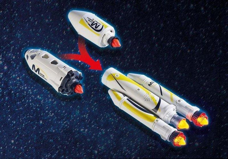 Playmobil Space Rakieta Kosmiczna z Rampą Startową