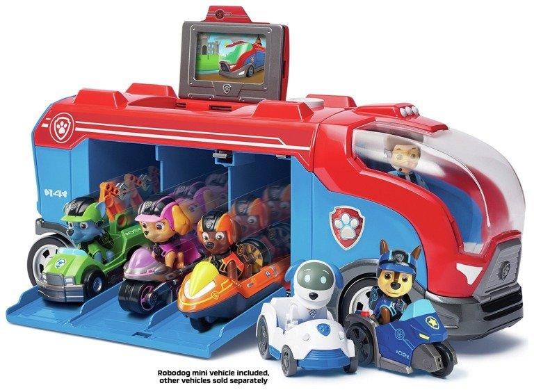 Spin Master Psi Patrol Misja Patrolowiec I Pojazd Robopies