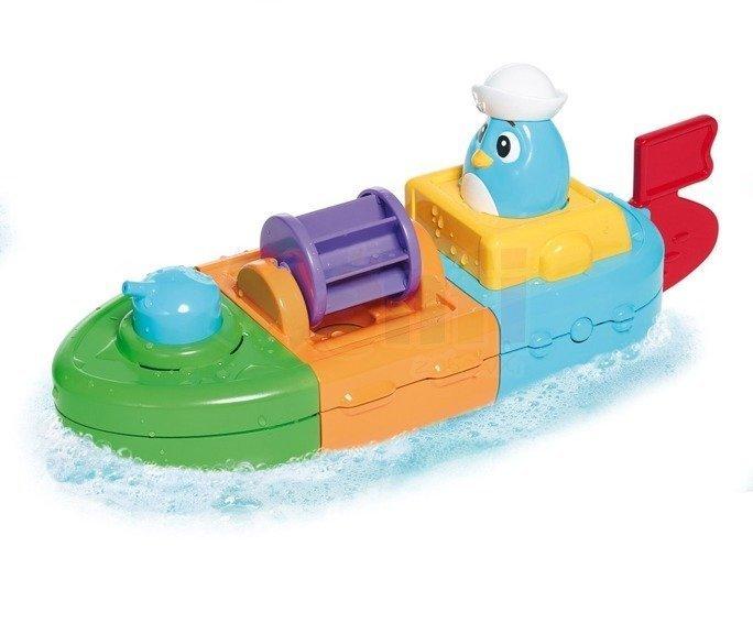 tryskać łódką