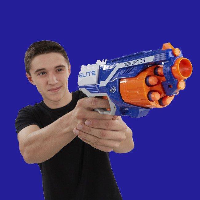 Hasbro Nerf N Strike Elite Wyrzutnia Disruptor Elite