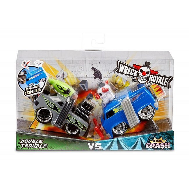 Little Tikes Wreck Royale Eksplodujące Autka 2pak -  Double Trouble vs. King Crash