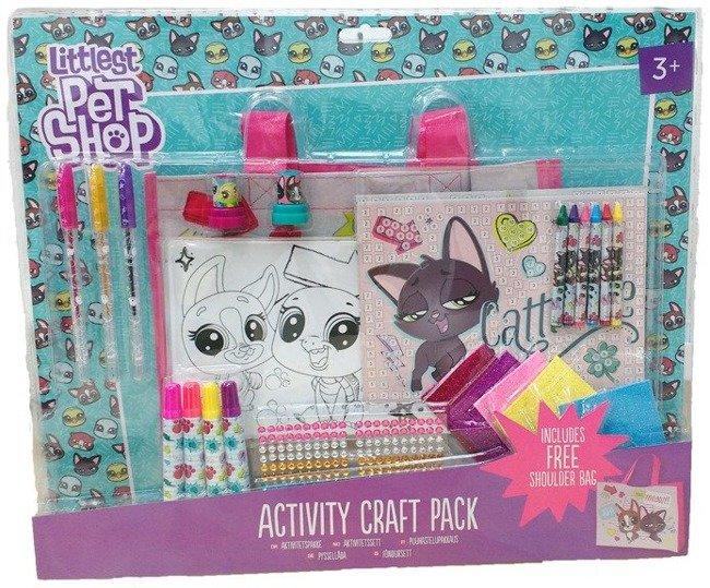 Littlest Pet Shop Zestaw Artystyczny + Torba Na Ramię