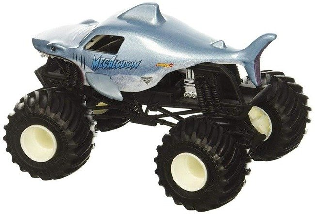 Mattel Hot Wheels Monster Jam Pojazd Megalodon