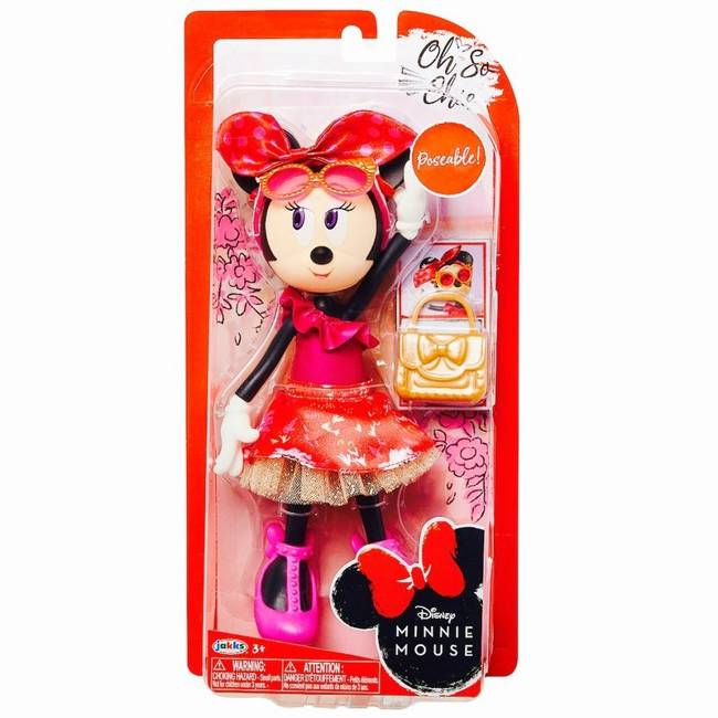 Modna Myszka Minnie Figurka Deluxe Oh So Chic