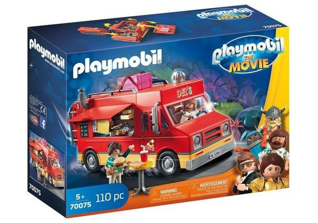 Playmobil The Movie Zestaw Food Truck Dela