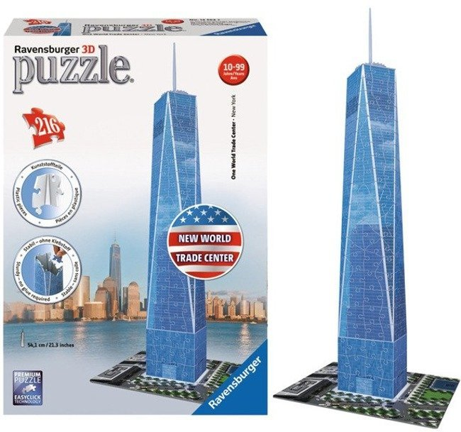 Ravensburger Puzzle 3D World Trade Center 216 el.