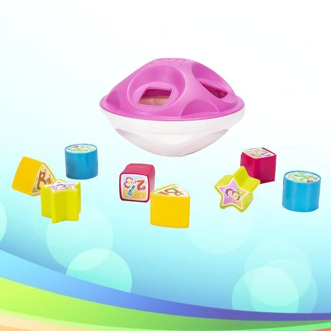 Smily Play Super Sorter Różowy