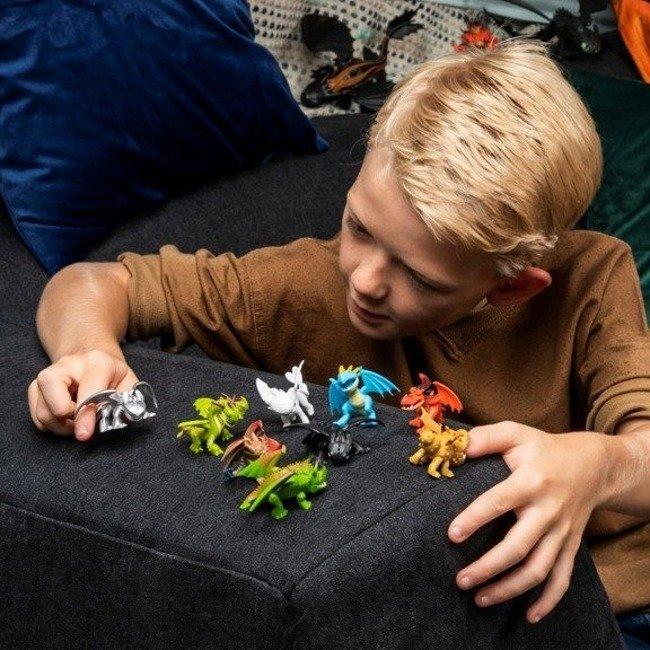 Spin Master Dragons Jak Wytresować Smoka Tajemnicze Smoki Saszetka z Figurką