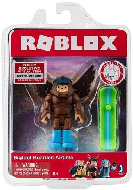 Tm Toys Roblox Figurka Bigfoot Boarder: Airtime