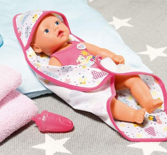 Zapf Creation Baby Born Bobas Lalka do kąpieli